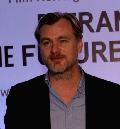 British filmmaker Christopher Nolan.