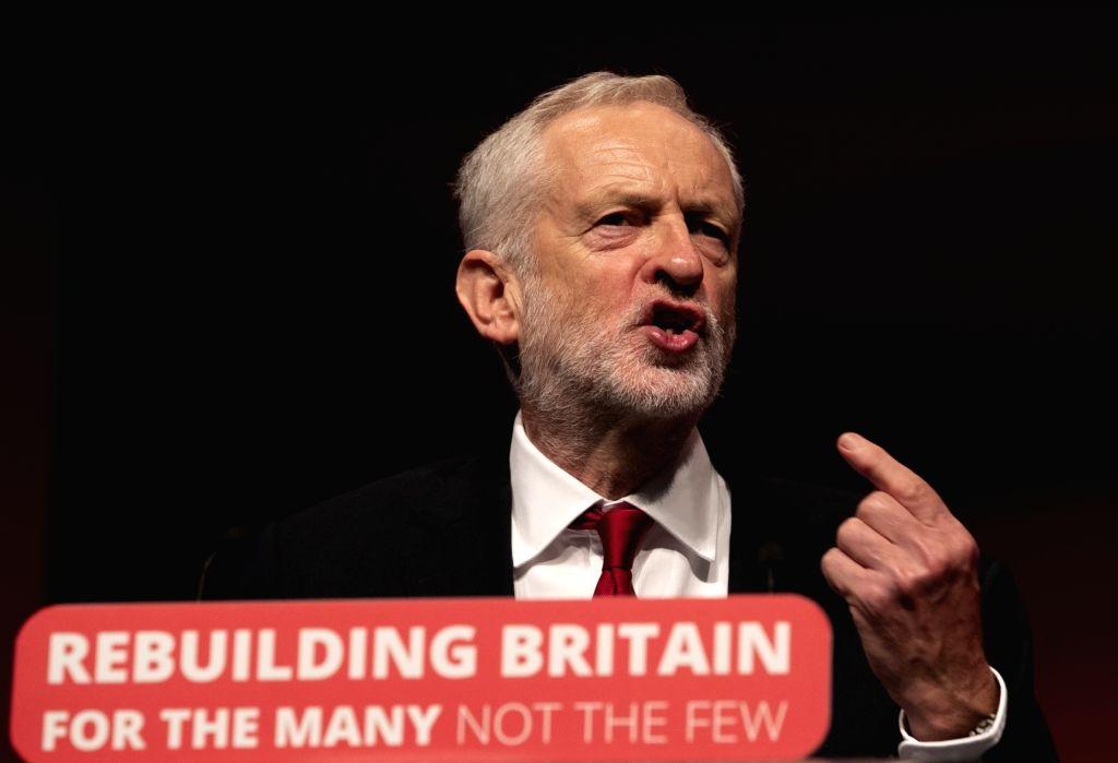 British Labour Party leader Jeremy Corbyn. (Xinhua/Han Yan/IANS)