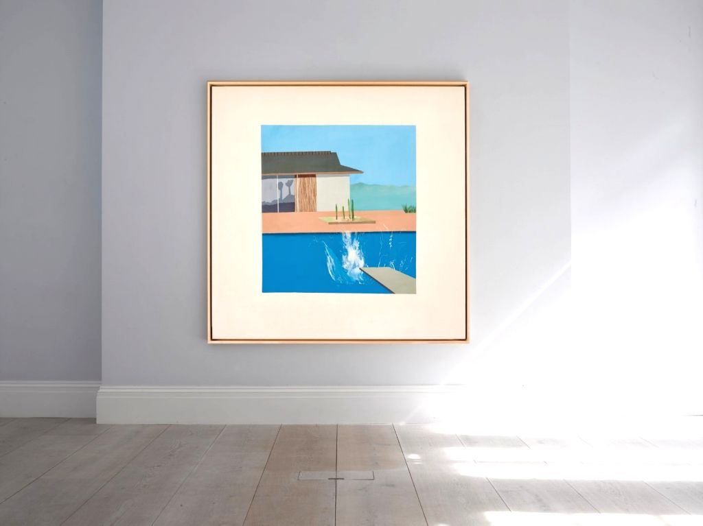 British painter David Hockneys �The Splash -- undoubtedly one of the most iconic Pop art images of the 20th century -- is set to make waves at Sothebys London auction this February. It is estimated to fetch between a whopping 2