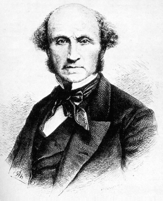 British philosopher John Stuart Mill who developed liberalism into a political philosophy but stressed its social component too