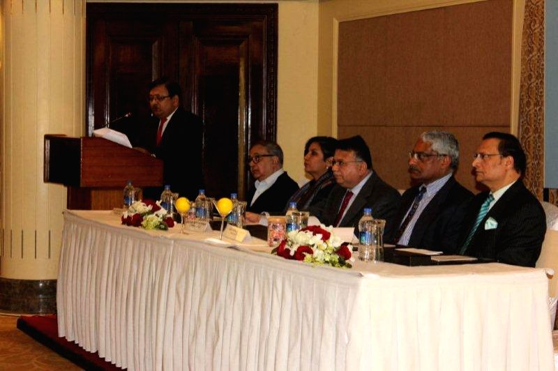 BROADCASTING CONTENT COMPLAINTS COUNCIL (BCCC) chair  Justice (Retd.) A.P. Shah and other members at a conference. - P. Shah
