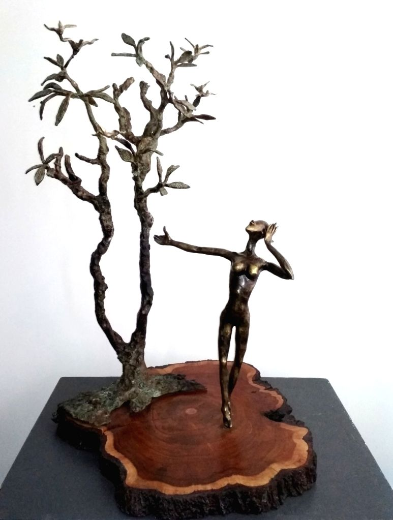 : Bronze sculptor by Dimpy Menon..