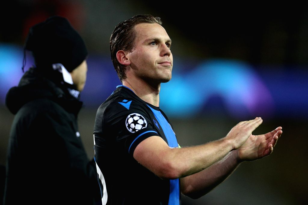 BRUGGE, Dec. 12, 2019 - Captain of Club Brugge Ruud Vormer salutes the fans after a Group A match of the 2019-2020 UEFA Champions League between Club Brugge and Real Madrid in Brugge, Belgium, Dec. ...