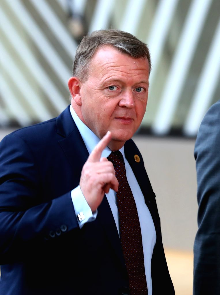 BRUSSELS, March 9, 2017 - Danish Prime Minister Lars Loekke Rasmussen arrives for the EU spring summit in Brussels, Belgium, on March 9, 2017. The European Council kicked off its spring summit on ... - Lars Loekke Rasmussen