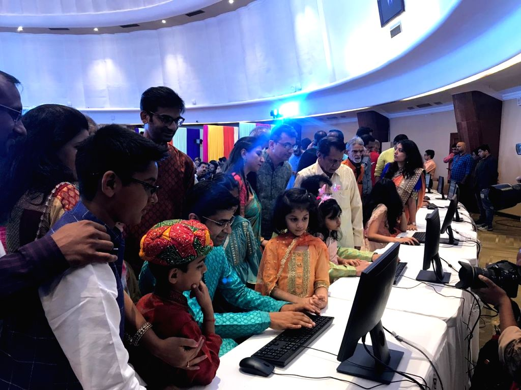 BSE member brokers doing Muhurat Trade on the occasion of Diwali at Bombay Stock Exchange in Mumbai on Oct 27, 2019.