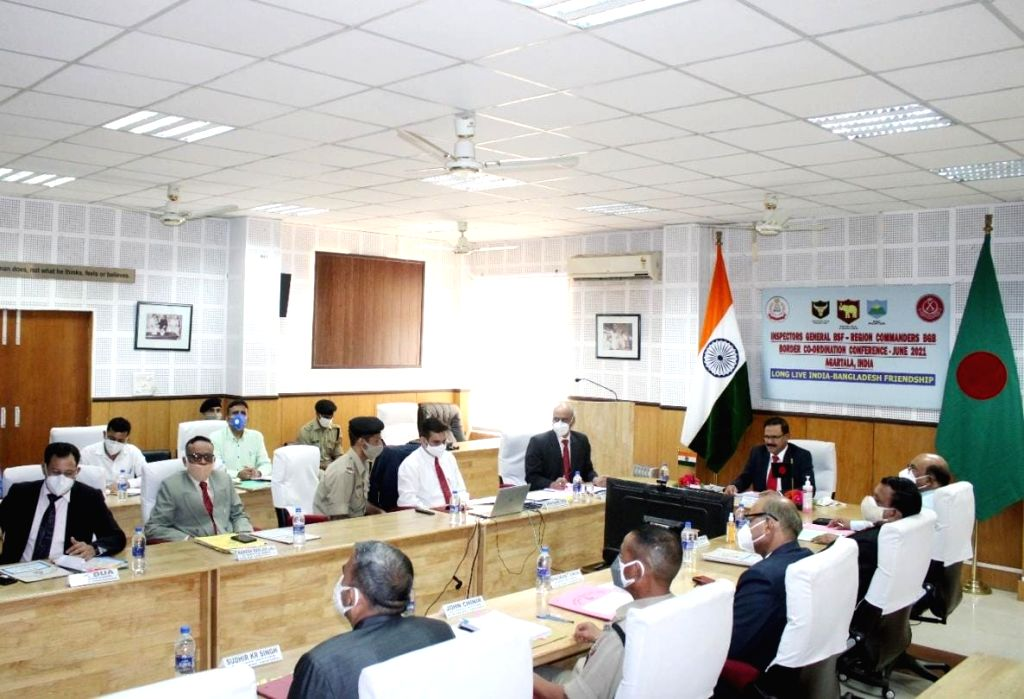 BSF-BGB 1st ever 4-day virtual meet to curb crimes, fencing, terror activities -- mailed short while back