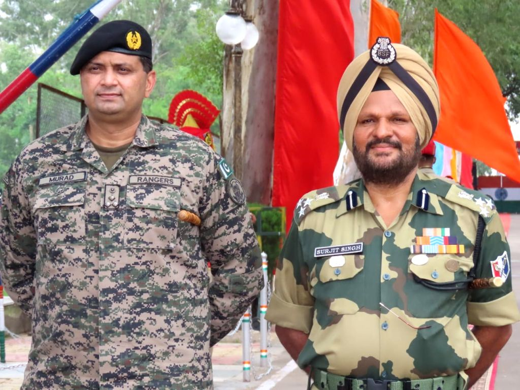 BSF lodges protest with Pak Rangers over increased drone activity.