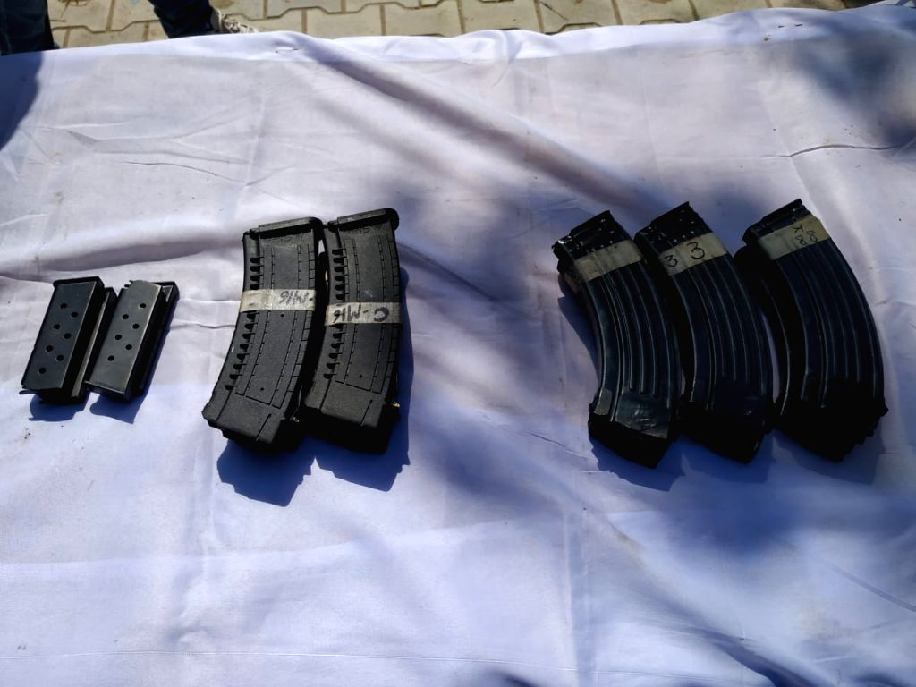 BSF seizes cache of arms in Punjab's Abohar sector