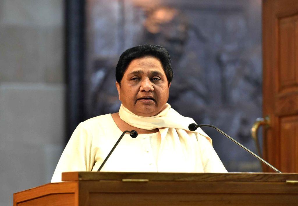 BSP chief Mayawati. (File Photo: IANS)