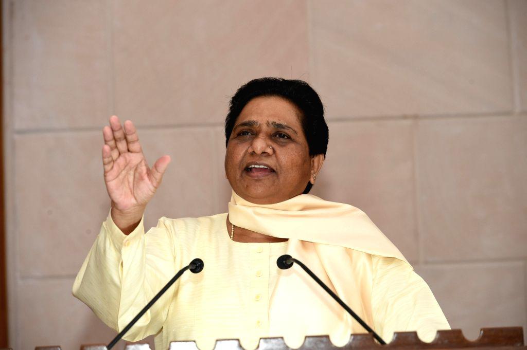 BSP supremo Mayawati. (Photo: IANS)