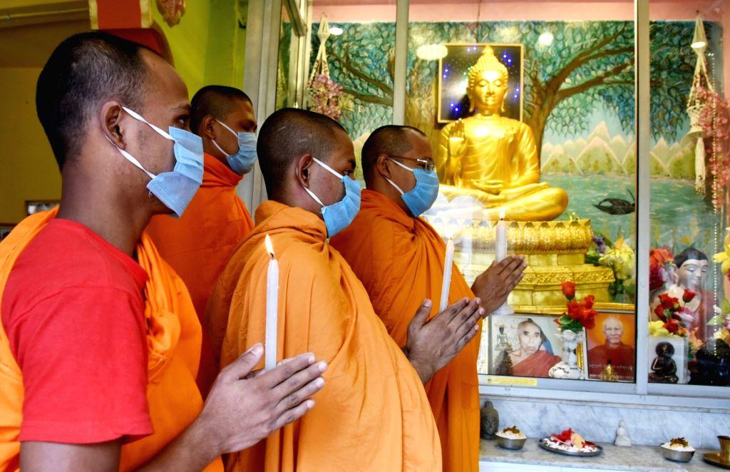 Buddhist Temple in Kolkata  (Photo: Kuntal Chakrabarty/IANS)
