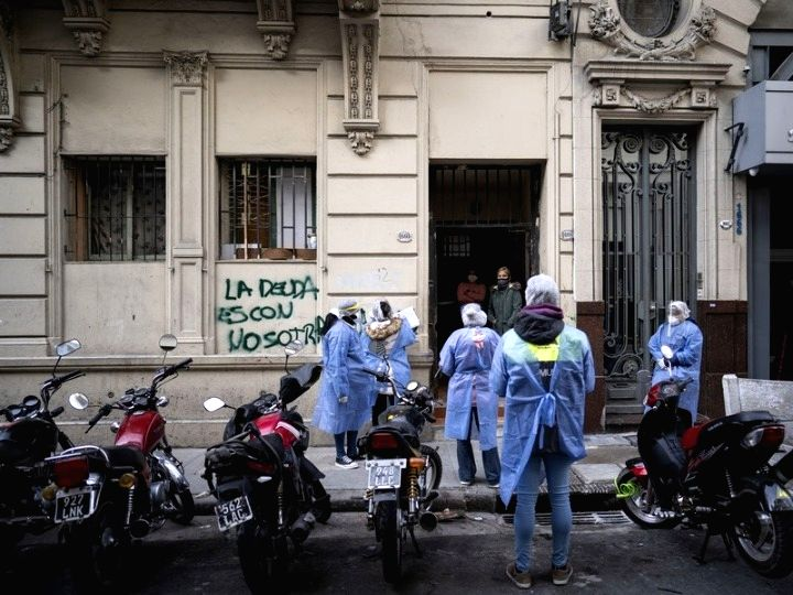Buenos Aires, Aug. 13 The Pan American Health Organization (PAHO) on Tuesday touted Argentina's response to the novel coronavirus pandemic, saying it was timely and consistent nationwide. ...