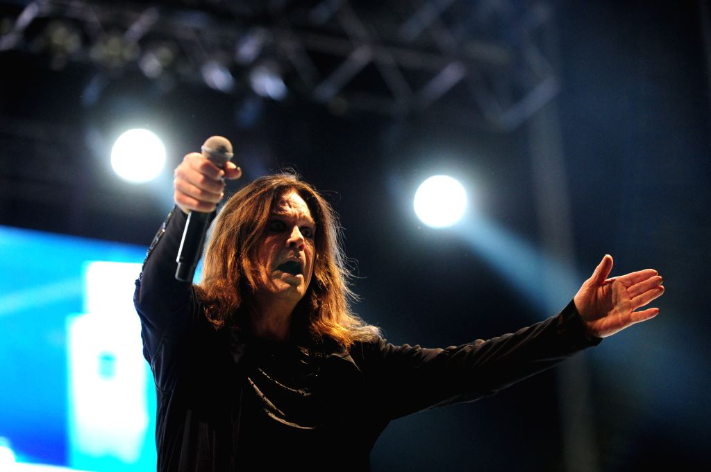 "British musician Ozzy Osbourne takes part in the ""Monsters of Rock"" Festival, in the City of Rock estate, in the Soldati Villa, in Buenos Aires, ..."
