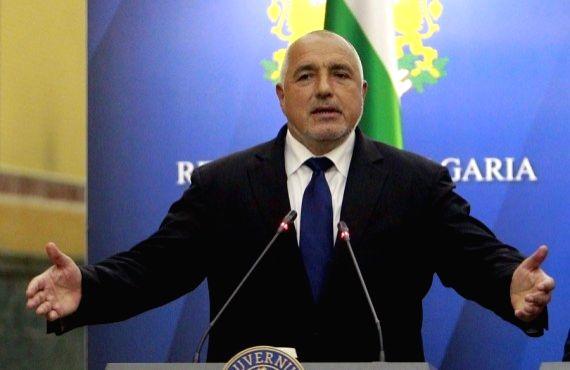Bulgarian Prime Minister Boiko Borisov. (Credit: Xinhua) - Boiko Borisov