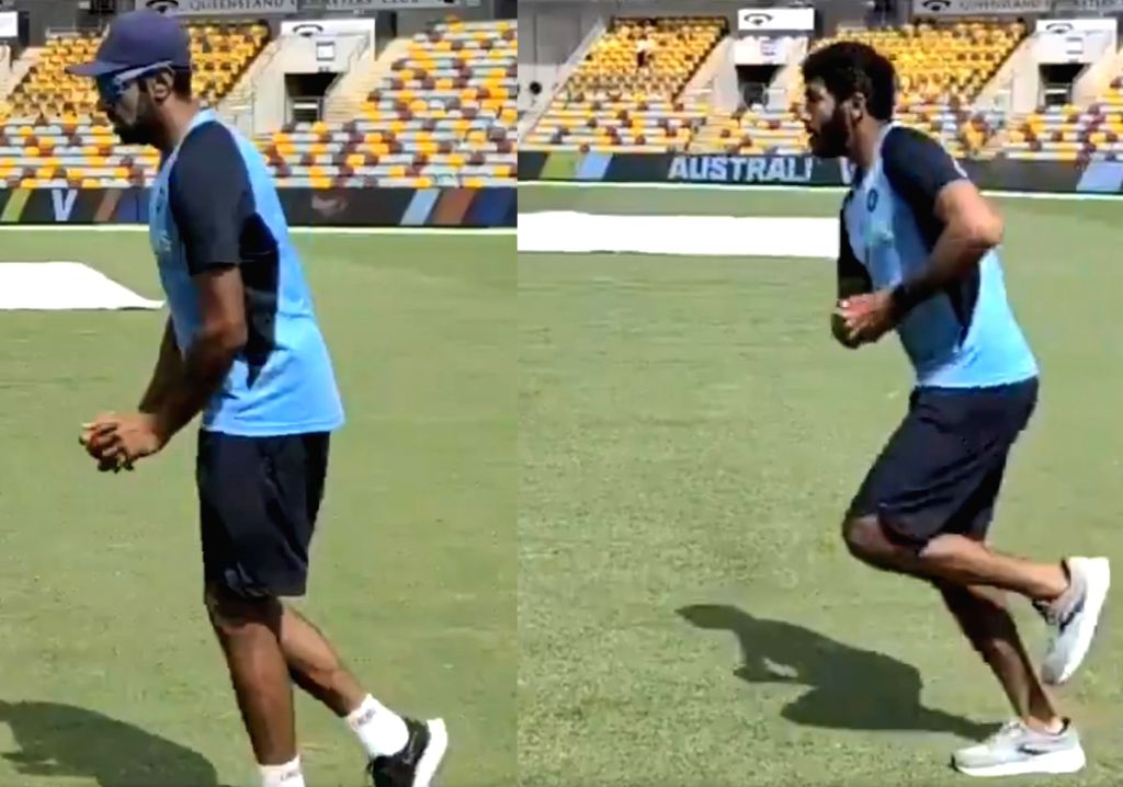 Bumrah, Ashwin get into groove ahead of England Tests (Credit:@BCCI /Twitter)
