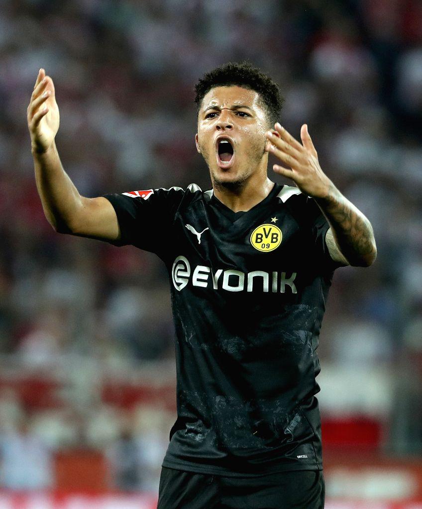 Bundesliga: Sancho hat-trick helps Dortmund thrash Paderborn