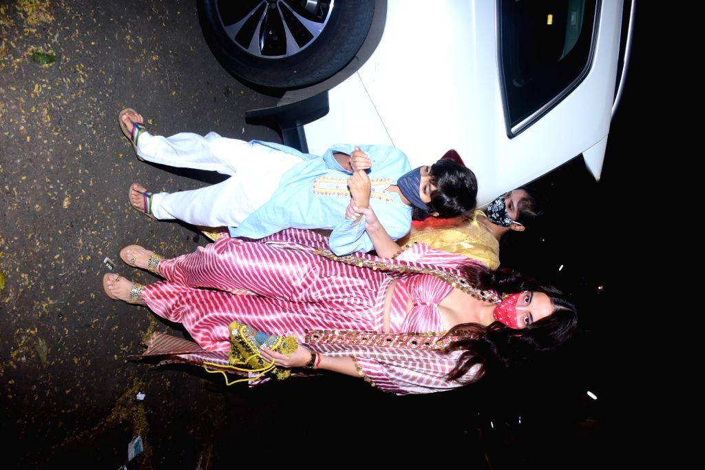 Bunty Sajdeha's party at Mumbai's Bandra on November 14, 2020.