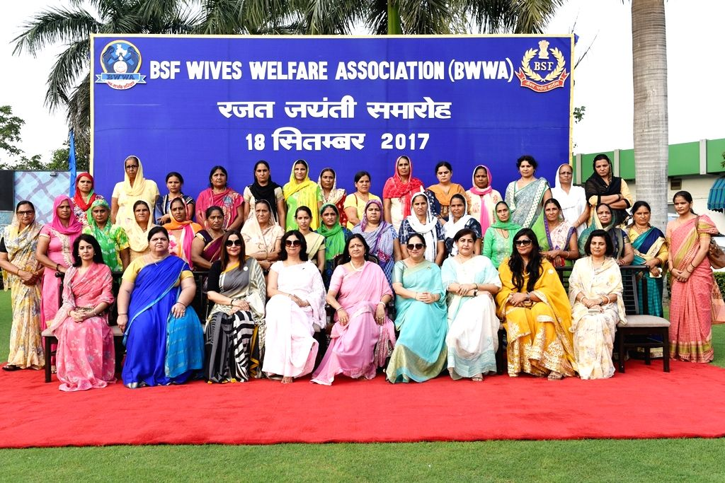 BWWA President Renu Sharma along during the 25th BWWA Day which is celebrated every year in the month September as a benchmark of its action for upliftment and welfare of BSF families in ... - Renu Sharma