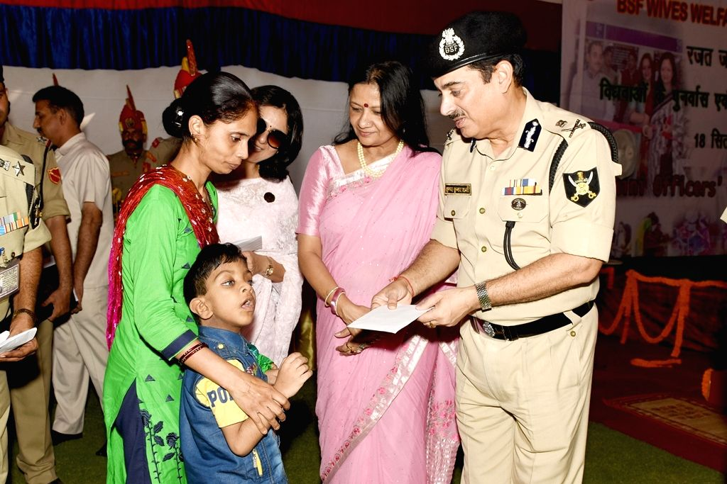 BWWA President Renu Sharma along with Border Security Force (BSF) DG K K Sharma during the 25th BWWA Day which is celebrated every year in the month September as a benchmark of its action ... - Renu Sharma and K K Sharma
