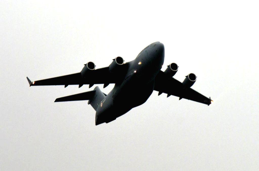 C-17 Globemaster plane. (File Photo: IANS)