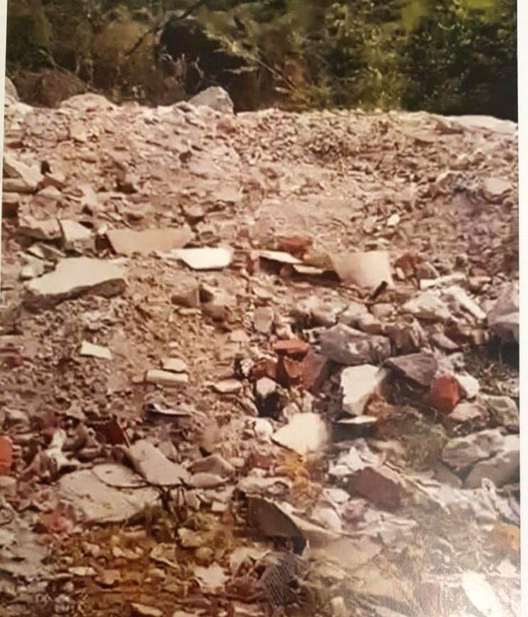 C&D waste dumped in Aravalis illegally