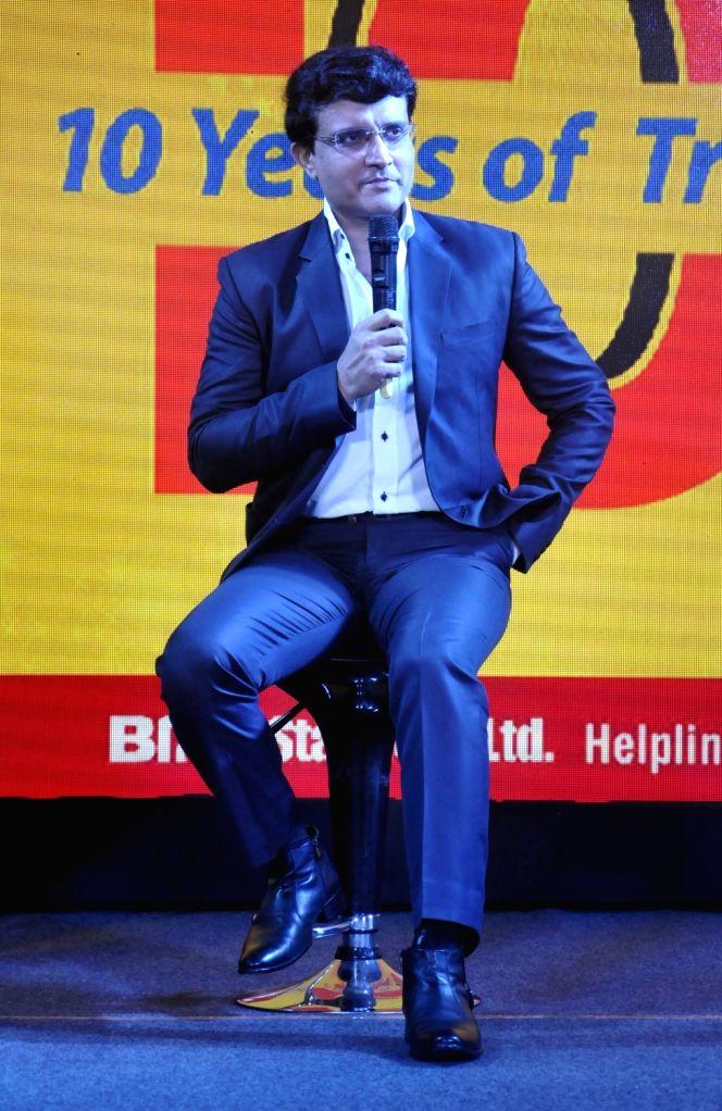 CAB President Sourav Ganguly during a programme in Kolkata on Sept 15, 2016. - Sourav Ganguly