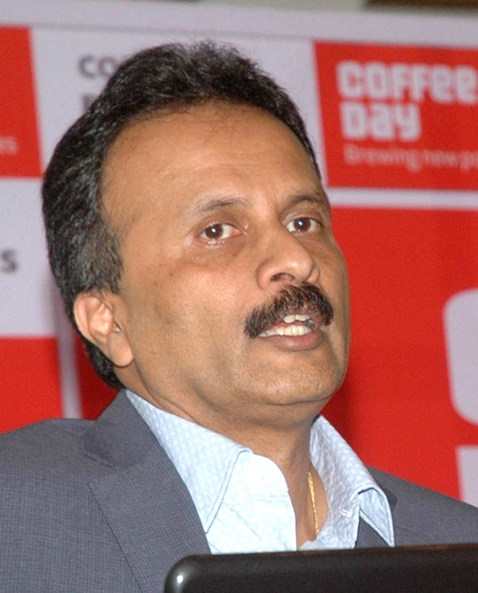 Caf?? Coffee Day (CCD) founder V.G. Siddhartha who went missing on Monday night from Mangaluru. The police have launched a massive search for Siddhartha, suspected to have committed ...