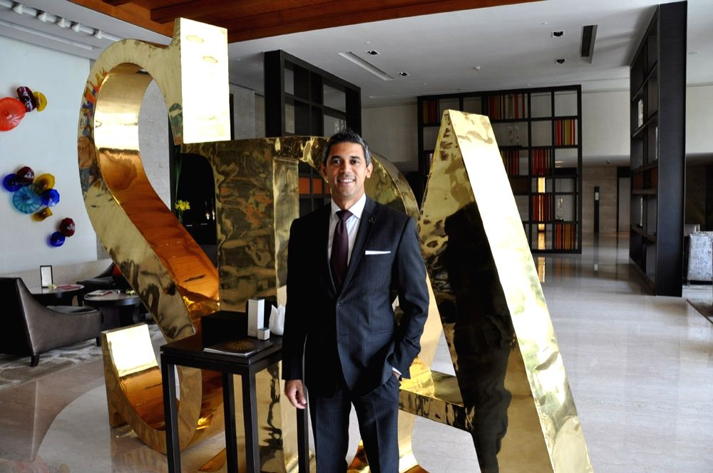 Cajetan Araujo - Hotel Manager at the spa at Claridges Surajkund which was awarded for providing The most Luxurious Spa Treatment.