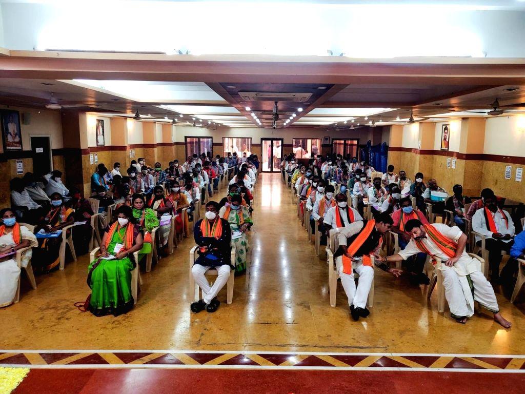 Can BJP do Dubbaka in Tirupati Parliamentary by-election.