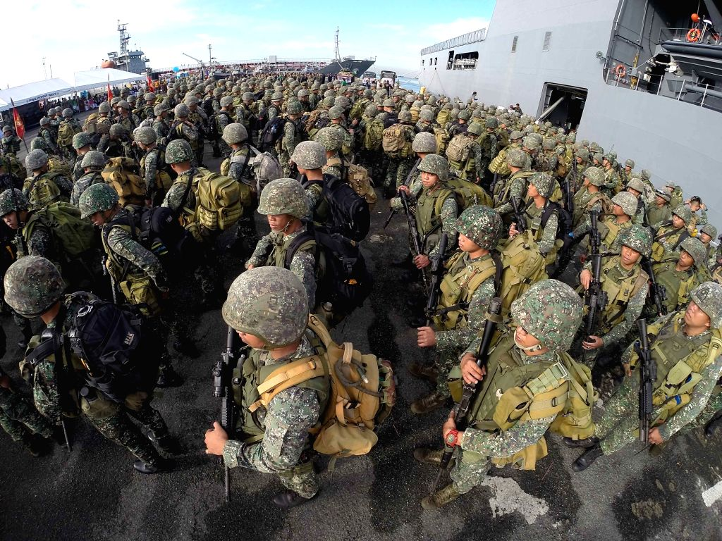 Canberra, March 31 (IANS) The Australian government has cancelled a deployment of US Marines to the country's Northern Territory (NT) region amid the coronavirus pandemic.(Xinhua/Rouelle Umali/IANS)