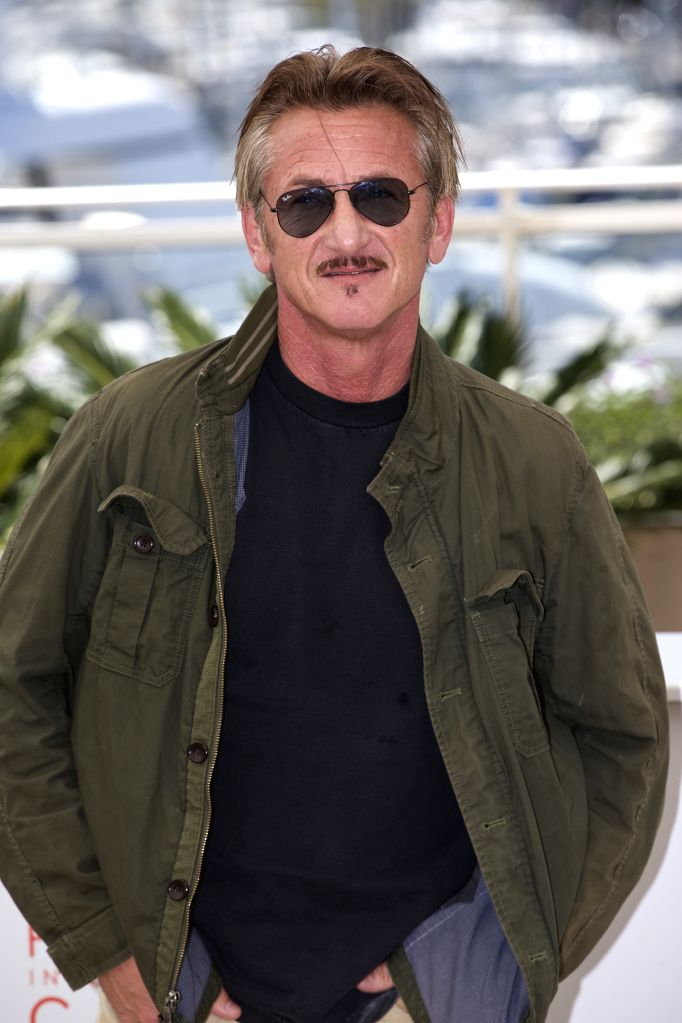"""CANNES (FRANCE), May 20, 2016 Director Sean Penn poses during a photocall for the film """"The Last Face"""" in competition at the 69th Cannes Film Festival in Cannes, France, on May ..."""