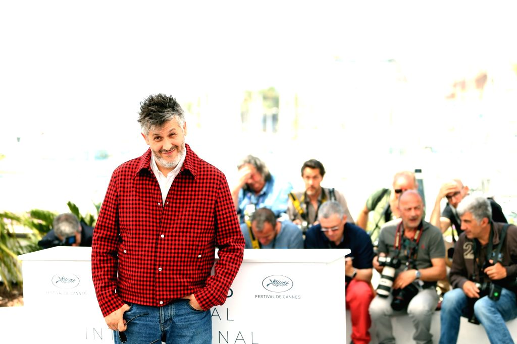 CANNES, May 11, 2018 - Director Christophe Honore attends the photocall for 'Sorry Angel (Plaire, Aimer Et Courir Vite)' during the 71st annual Cannes Film Festival at Palais des Festivals in Cannes, ...