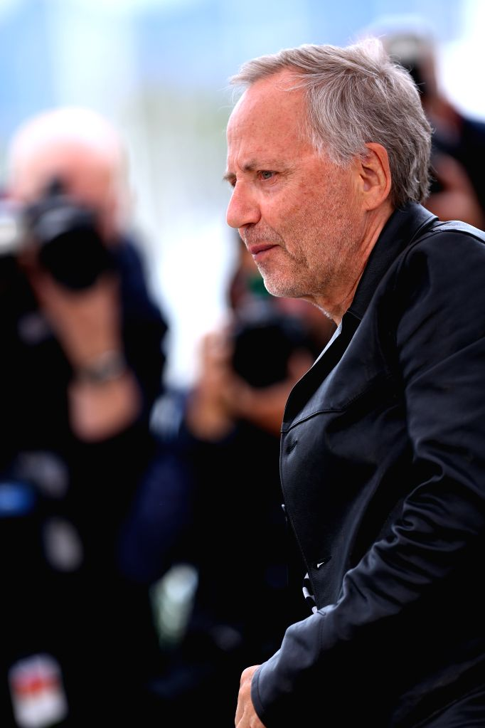 """CANNES, May 13, 2016 - Cast member Fabrice Luchini poses during a photocall for the film """"Ma Loute"""" (Slack Bay) during the 69th Cannes Film Festival in Cannes, France, May 13, 2016."""