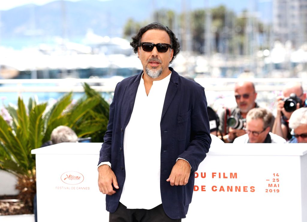 CANNES, May 14, 2019 - Mexican director and President of the Jury of the Cannes Film Festival Alejandro Gonzalez Inarritu poses for photos at a photocall in Cannes, France, May 14, 2019.