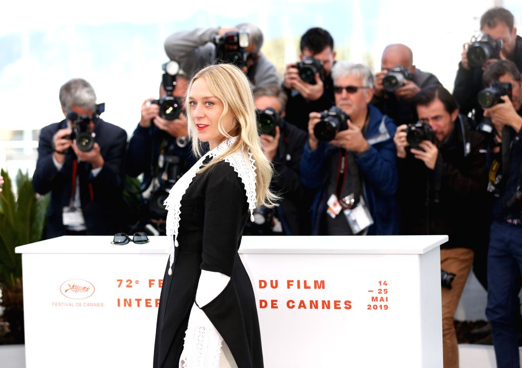 CANNES, May 15, 2019 - Actress Chloe Sevigny poses for photos during the 72nd Cannes Film Festival in Cannes, France, May 15, 2019. The 72nd Cannes Film Festival is held here from May 14 to 25. - Chloe Sevigny