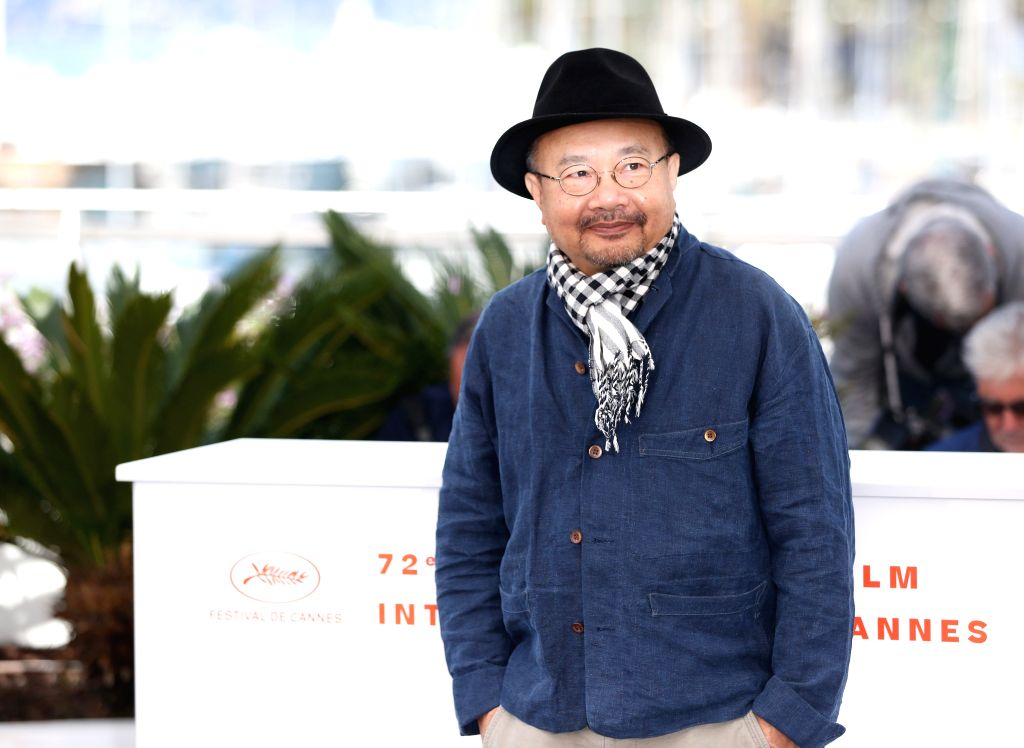 CANNES, May 15, 2019 - Cambodian director Rithy Panh, also the President of the Camera d'Or Jury, poses during a photocall at the 72nd Cannes Film Festival in Cannes, France, May 15, 2019. The 72nd ... - Rithy Panh