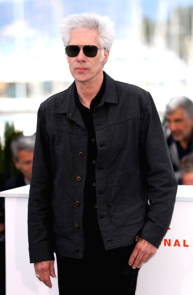 CANNES, May 15, 2019 - Director Jim Jarmusch poses for photos during the 72nd Cannes Film Festival in Cannes, France, May 15, 2019. The 72nd Cannes Film Festival is held here from May 14 to 25.