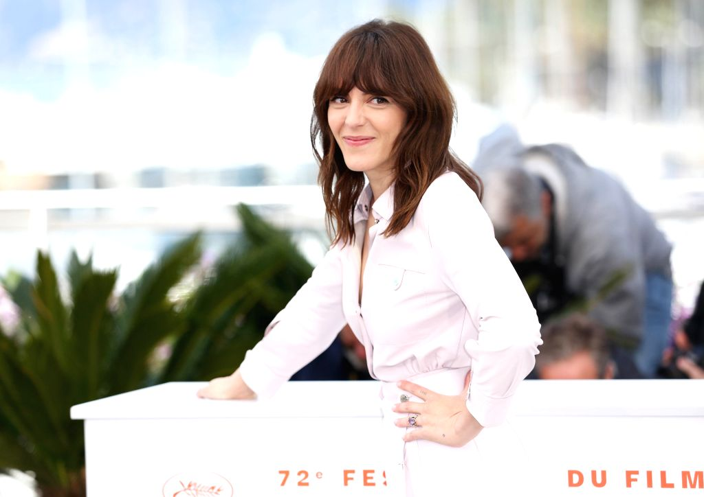 CANNES, May 15, 2019 - Director Monia Chokri poses during a photocall for the film A Brother's Love screened in the Un Certain Regard section during the 72nd Cannes Film Festival in Cannes, France, ...