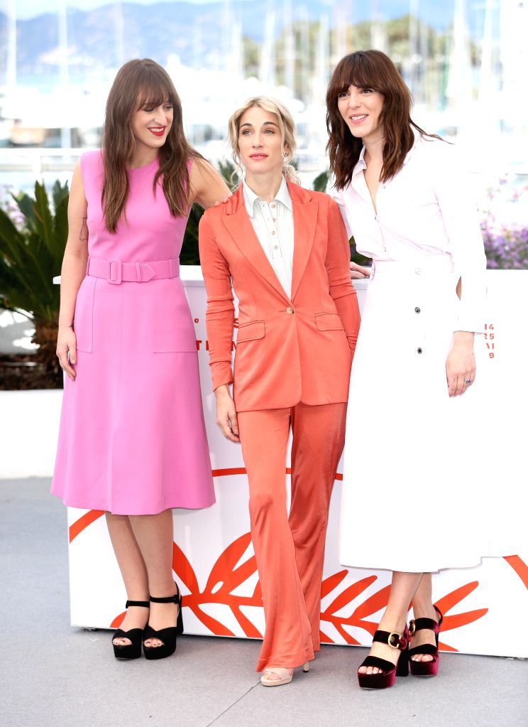 CANNES, May 15, 2019 - (From L to R) Actress Anne-Elizabeth Bosse, producer Nancy Grant and director Monia Chokri pose during a photocall for the film A Brother's Love screened in the Un Certain ... - Anne-Elizabeth Bosse