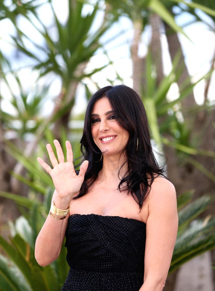 CANNES, May 15, 2019 - Un Certain Regard jury president Nadine Labaki poses during a photocall at the 72nd Cannes Film Festival in Cannes, France, May 15, 2019. The 72nd Cannes Film Festival is held ...