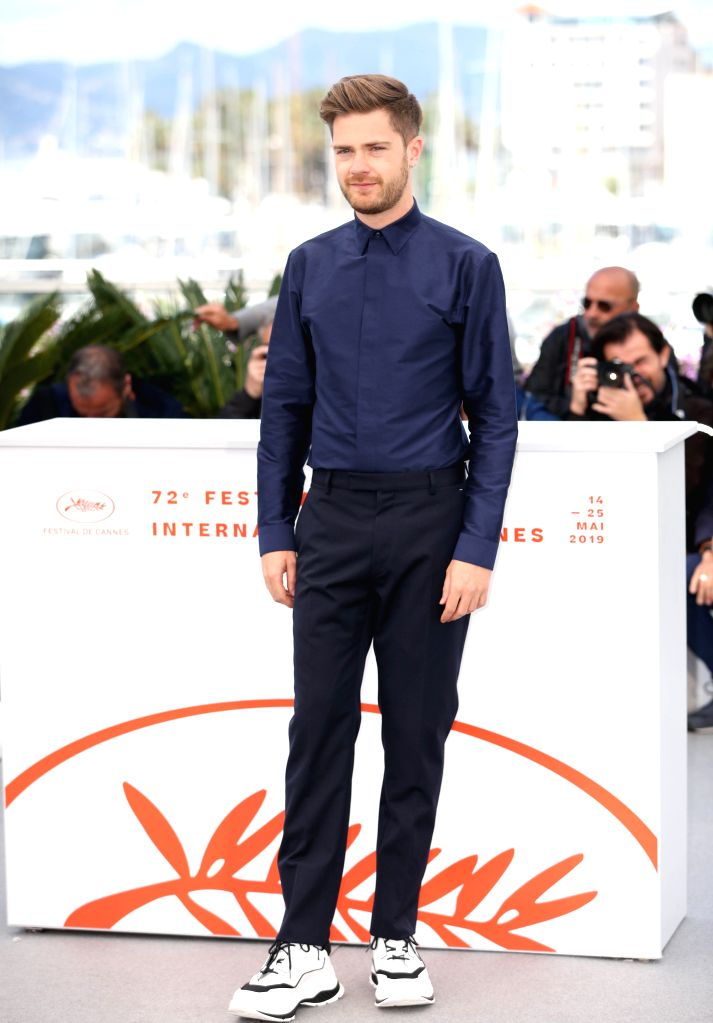 CANNES, May 15, 2019 - Un Certain Regard jury member Lukas Dhont poses during a photocall at the 72nd Cannes Film Festival in Cannes, France, May 15, 2019. The 72nd Cannes Film Festival is held here ...