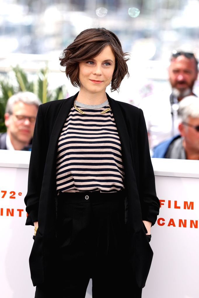 CANNES, May 16, 2019 - Director Elea Gobbe-Mevellec poses during a photocall for the film Les Hirondelles de Kaboul screened in the Un Certain Regard section during the 72nd Cannes Film Festival in ...