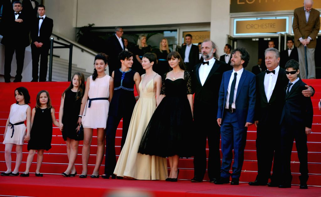 Italian actress Eva Morrow, Italian actress Maria tella Morrow, Italian actress Agnese Graziani, Italian actress Maria Alexandra Lungu, Italian director Alice ... - Eva Morrow