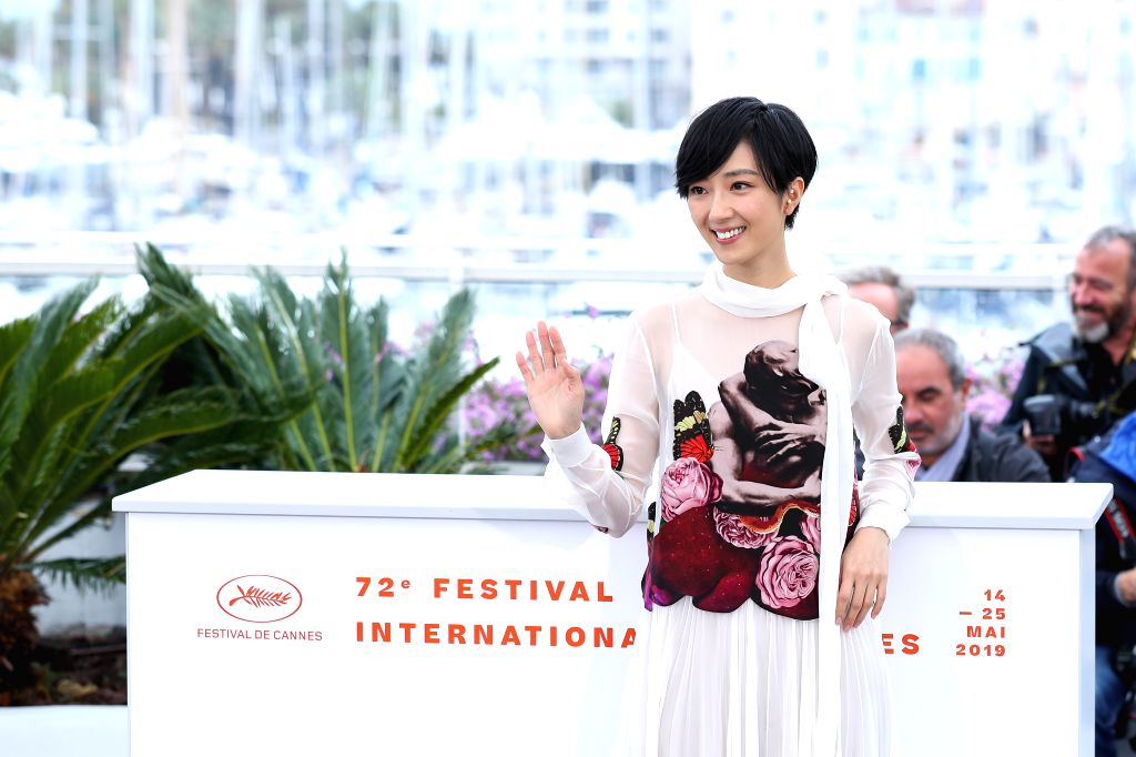 "CANNES, May 19, 2019 - Actress Kwai Lun Mei poses during a photocall for the film ""Wild Goose Lake"" at the 72nd Cannes Film Festival in Cannes, France, May 19, 2019. Chinese director Diao ... - Kwai Lun Mei"