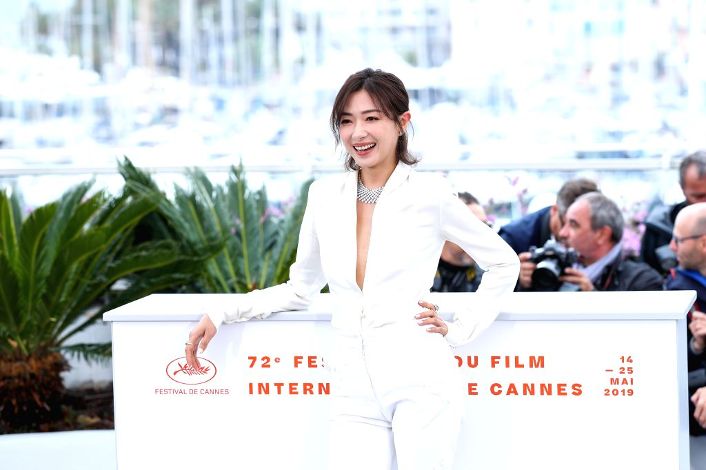 "CANNES, May 19, 2019 - Actress Wan Qian poses during a photocall for the film ""Wild Goose Lake"" at the 72nd Cannes Film Festival in Cannes, France, May 19, 2019. Chinese director Diao ... - Wan Qian"