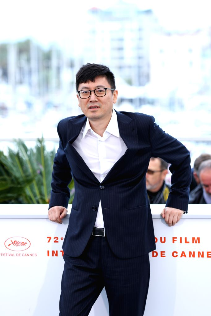 "CANNES, May 19, 2019 - Director Diao Yinan poses during a photocall for the film ""Wild Goose Lake"" at the 72nd Cannes Film Festival in Cannes, France, May 19, 2019. Chinese director Diao ... - Diao Yina"