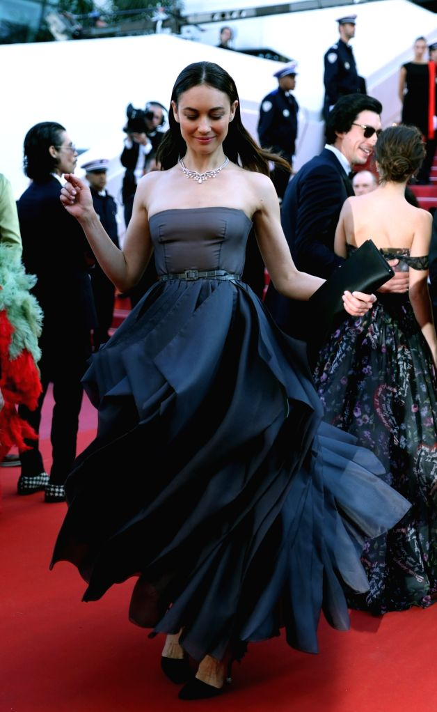 "CANNES, May 20, 2018 - Cast memeber Olga Kurylenko takes part in the screening of ""The Man Who Killed Don Quixote"" and the Closing Ceremony during the 71st annual Cannes Film Festival at ..."