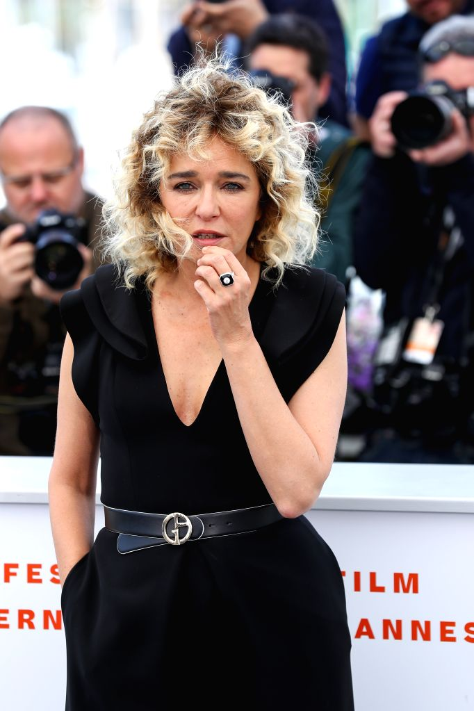 "CANNES, May 20, 2019 - Actress Valeria Golino poses during a photocall for the film ""Portrait de la jeune fille en feu"" at the 72nd Cannes Film Festival in Cannes, France, May 20, 2019. ... - Valeria Golino"