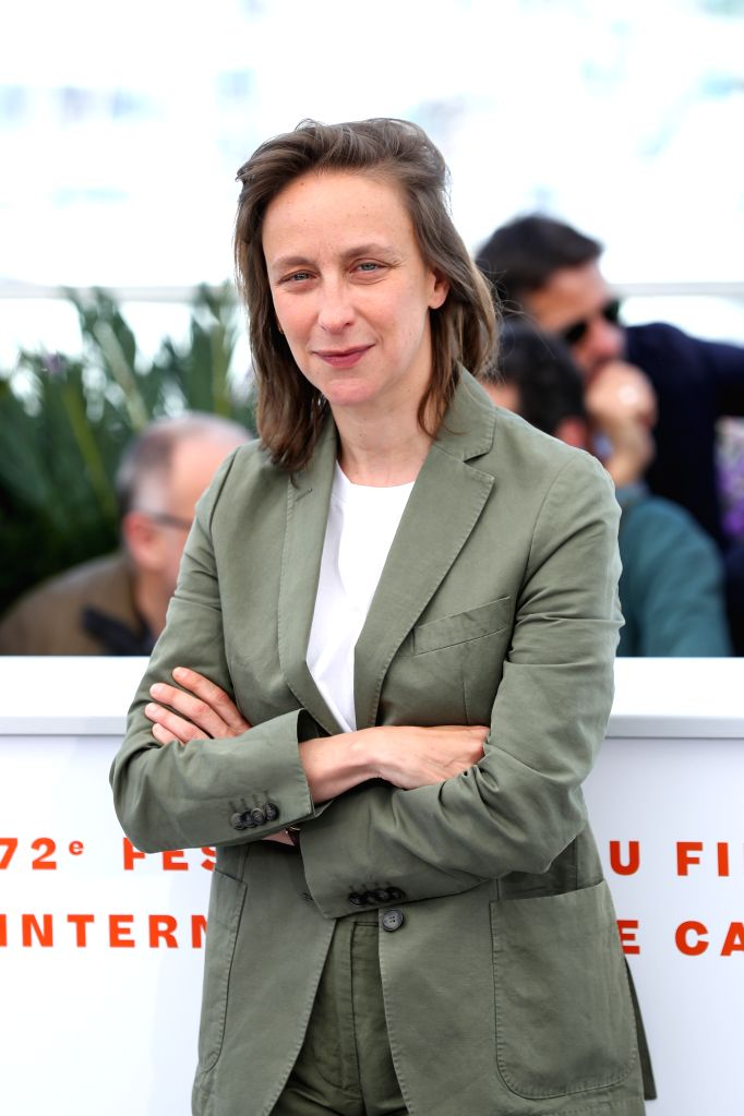 "CANNES, May 20, 2019 - Director Celine Sciamma poses during a photocall for the film ""Portrait de la jeune fille en feu"" at the 72nd Cannes Film Festival in Cannes, France, May 20, 2019. ... - Celine Sciamm"
