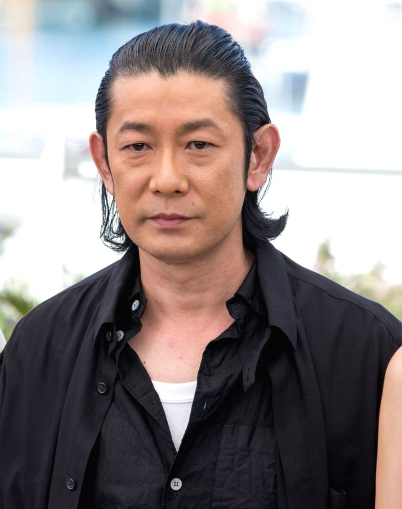 """CANNES, May 23, 2017 - Actor Masatoshi Nagase poses for a photocall of the film """"Hikari (Radiance) """" during the 70th Cannes Film Festival at Palais des Festivals in Cannes, France, on May ... - Masatoshi Nagase"""